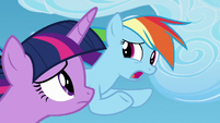 "Rainbow Dash ""the harder I try"" S8E20"