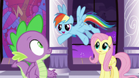 "Rainbow Dash ""we have a miracle!"" S9E17"