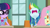Rainbow Dash groaning loudly EGDS6