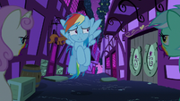 Rainbow runs into zombie Lyra and Twinkleshine S6E15