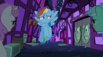 Rainbow runs into zombie Lyra and Twinkleshine S6E15
