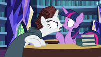 "Rarity ""more disastrous than this?!"" S7E19"