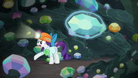 "Rarity angry ""breathing, darling!"" S9E19"