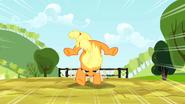 S02E14 Applejack skacze przez płotki