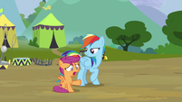 "Scootaloo ""go up and talk to them"" S8E20"