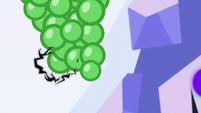 Sombra's magic coils around a grapevine S9E1