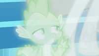Spike counting down from three S7E1