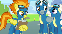 Spitfire looks at Rainbow's checklists S6E7