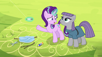 """Starlight """"good luck tacking against the A.O.I.!"""" S7E4"""