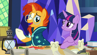 Sunburst -it loses something in the translation- S7E24
