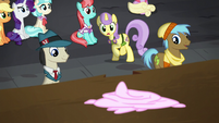 Sunshine Petals stops to watch S5E16