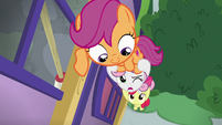 Sweetie Belle -that sounds like a closet- S8E12