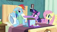 Twilight 'You go first Rainbow Dash!' S2E16
