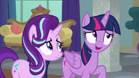 Twilight Sparkle suggests heading to the lake S8E1
