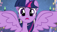 "Twilight sings ""I never claimed to be perfect"" S7E14"