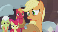 "Applejack ""so focused on us bein'"" S5E20"