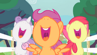 CMC singing with nose up to the sky S4E05