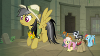 Daring Do sees a possible escape S9E21