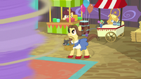 Dorothy Gale-like pony and her dog S9E22