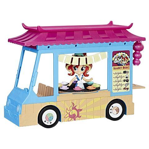 File:Equestria Girls Minis Sunset Shimmer Rollin' Sushi Truck set front.jpg