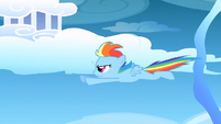 Filly Rainbow flying S1E23