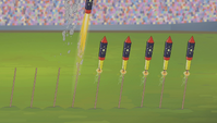 Fireworks shooting up S4E24