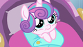 Flurry Heart looking up at Crystal Hoof S6E16.png