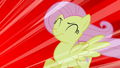 Fluttershy being blown by the scream S1E17.png