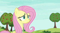 Fluttershy still looking unsure S6E18