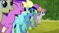 Minuette at Iron Will's rally S2E19.png