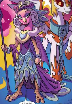 Nightmare Knights issue 1 Princess Eris