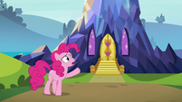 "Pinkie Pie ""this place grew out of nowhere"" S7E4"