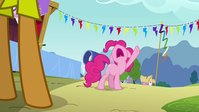 File:Pinkie Pie declares goof off for high noon S4E12.png