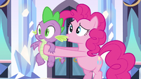 Pinkie Pie is it Spike S3E1