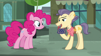 "Pouch Pony ""really hard to come by these days"" S6E3"