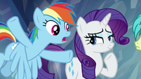 "Rainbow ""really makes a difference"" S8E22"