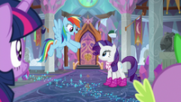 "Rainbow ""we still have a little time left"" S8E17"