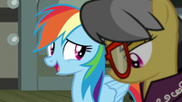 "Rainbow Dash ""make sure you're all right"" S7E18"