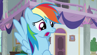 """Rainbow Dash """"my students are gone!"""" S8E1"""