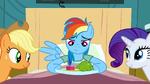 Rainbow Dash dinner time S2E16