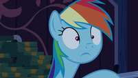 Rainbow Dash makes a realization S6E15