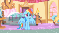 Rainbow Dash unnerved S1E25