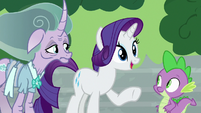 "Rarity ""it sounds like you need a map"" S7E26"