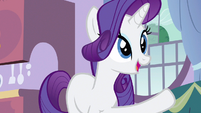 Rarity help me with S3E9