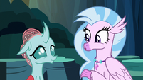 "Silverstream singing ""we'll make do"" S9E3"