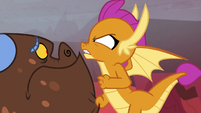 Smolder threatening Clump S9E9