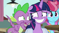 "Spike ""the one pony who could mess up"" S9E16"