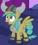 Sunshower Raindrops costume 1 S2E4
