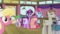 "Twilight ""Dash and Applejack aren't together"" S9E16"