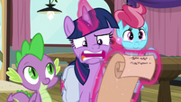 "Twilight ""there aren't many ponies left"" S9E16"
